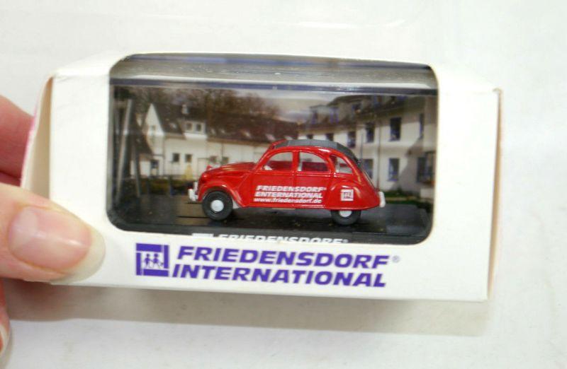 WIKING Friedensdorf International Käfer Citroen 2 CV 1:87 (K11) #16