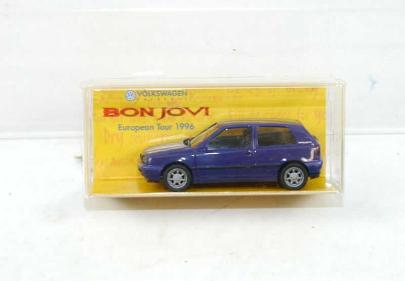 HERPA Jon Bon Jovi : These Days European Tour 1998 VW Golf 1:87 (K11) #14