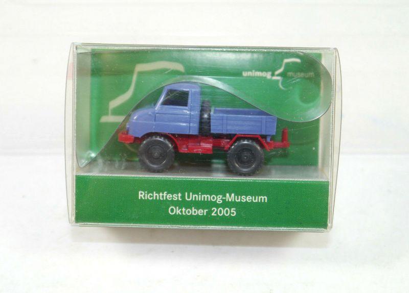 WIKING 870 56 Richtfest Unimog Museum U 411 ( 2005 ) 1:87 (K11) #08