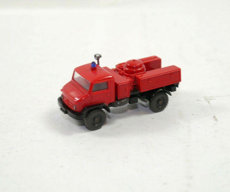WIKING - Unimog Feuerwehr Pulver Löschzug Modellauto 1:87 (K11) #04