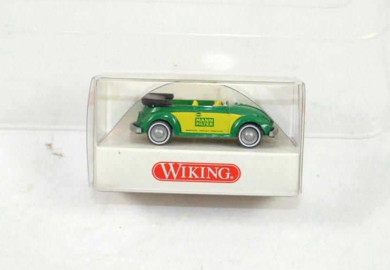 WIKING - MANN FILTER VW Käfer Cabrio Modellauto 1:87 (K11) #01