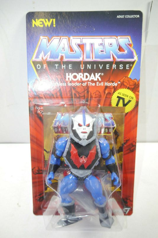 MASTERS OF THE UNIVERSE Vintage Collection - Hordak Actionfigur SUPER 7 Neu (L)