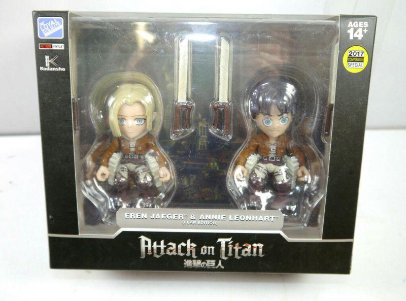 ATTACK ON TITAN Shingeki no Kyojin - Eren Jaeger & Annie Leonhart FEAR Ed. (L)