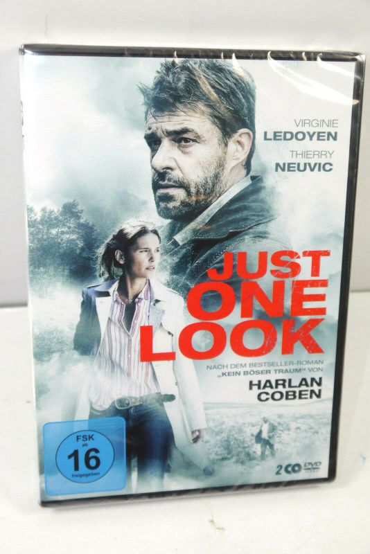 JUST ONE LOOK ( Kein Böser Traum ) Harlan Coben 2-Disc DVD NEU (WR4)