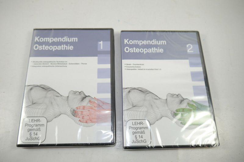 KOMPENDIUM OSTEOPATHIE 1 + 2  DVD Neu (WR7)