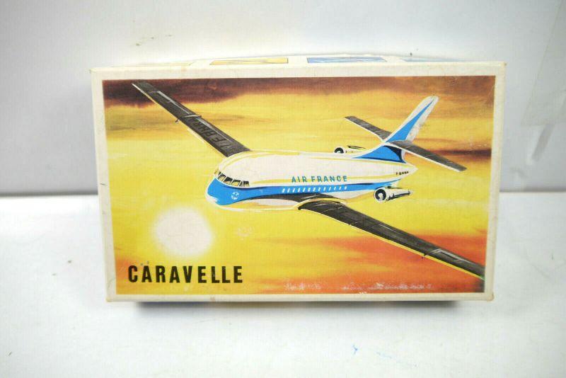 DUBENA Caravelle Flugzeug Plastik Modellbausatz ca. 13cm (K91)