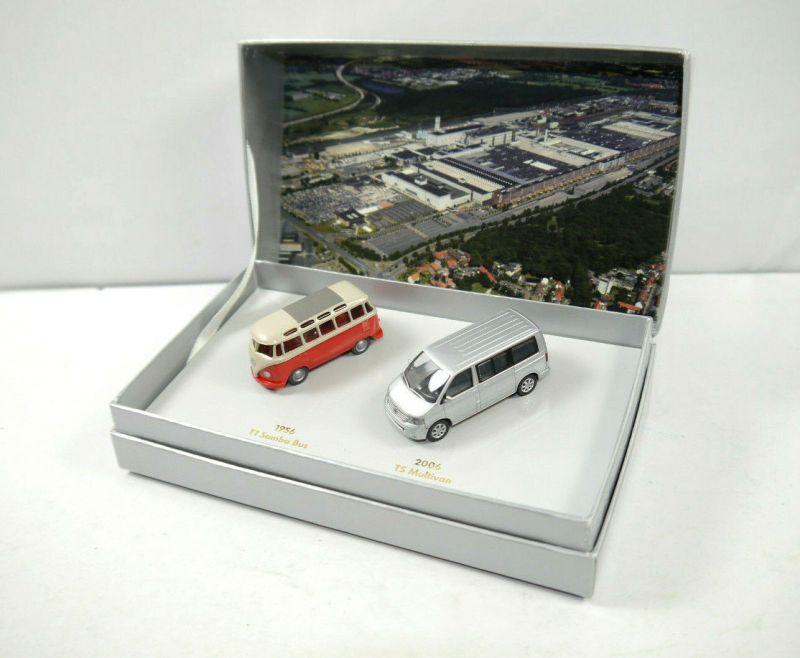 WIKING Volkswagen Nutzfahrzeige 50 Jahre Werk Hannover Modellauto Set 1:87 (K91)