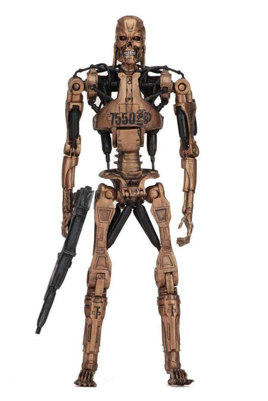 Merchandising Terminator Endoskeleton Set Neca Terminator Figur Doppelpack Robocop Vs Film-fanartikel