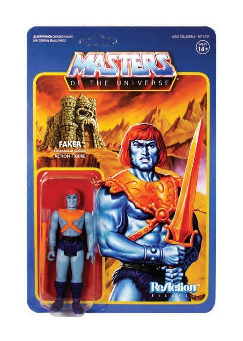 Masters of the Universe ReAction Actionfigur Wave 4 Faker 10 cm Super 7 (KB)*