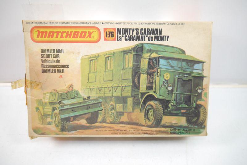 MATCHBOX  Daimler MkII Scout Car Plastik Modellbausatz 1:76 (K81)
