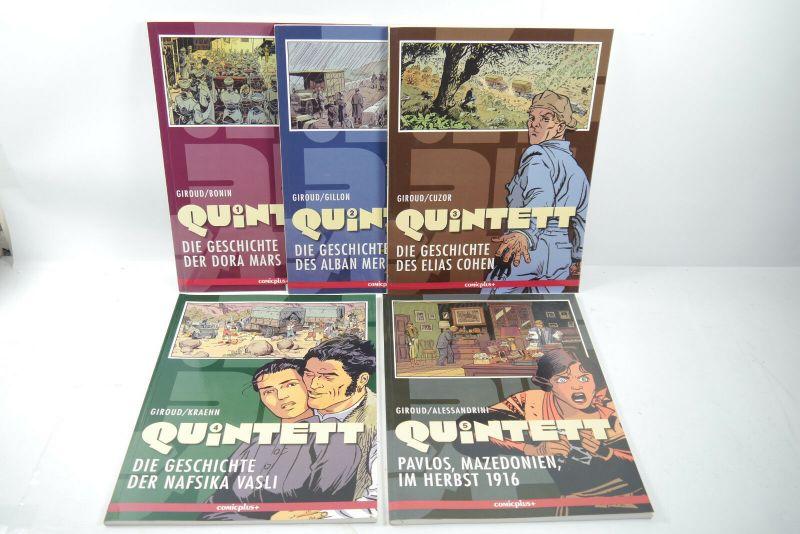 Quintett  Band 1 - 6  Comicplus+  Softcover Zustand : 1 -   (L)
