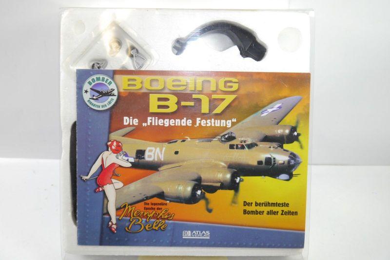 Atlas Boeing B-17 F Memphis Belle 1:144 Metall Standmodell  (K43)