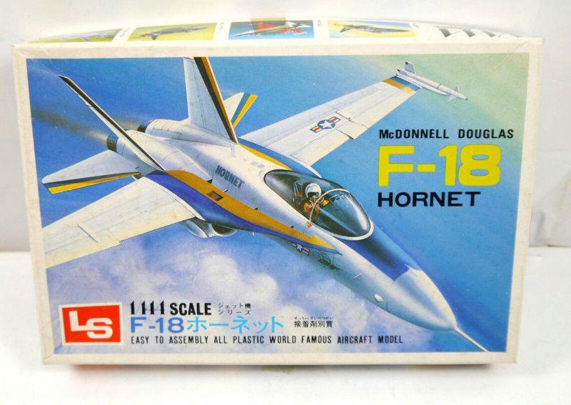 LS A123 McDonnell Douglas F-18 Hornet Jet Plastik Modellbausatz 1:144 (K49a)