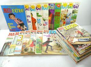 DEUTSCHES MAD Extra - 35 Comic Hefte WILLIAMS VERLAG // Z: 2-3 (WR5)
