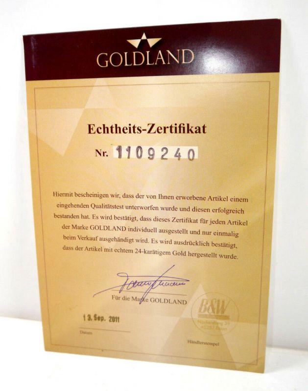 GOLDLAND Weißkopfadler Amerika 24 Karat Bilderrahmen Blattgold B&W (WRX) 5