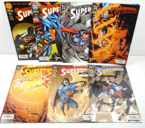 SUPERMAN Heft 1 - 7 / 2003 Comic DINO VERLAG DC (WR2)