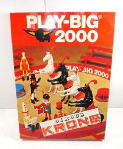PLAY BIG 2000 Circus Zirkus Krone - 6080 Zirkusmanege Set 70er mit OVP (F3)
