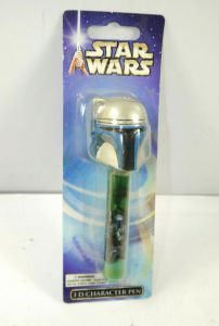 STAR WARS - 3D Character Pen Boba Fett Stift JOY TOY ca.13cm Neu (K63)