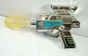 STAR WARS Electronic Laser Blaster Gun Pistol Spielzeug Waffe WEINA 80er (K63)
