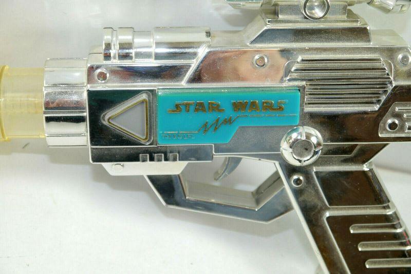 STAR WARS Electronic Laser Blaster Gun Pistol Spielzeug Waffe WEINA 80er (K63) 1