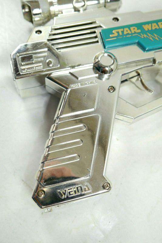 STAR WARS Electronic Laser Blaster Gun Pistol Spielzeug Waffe WEINA 80er (K63) 3