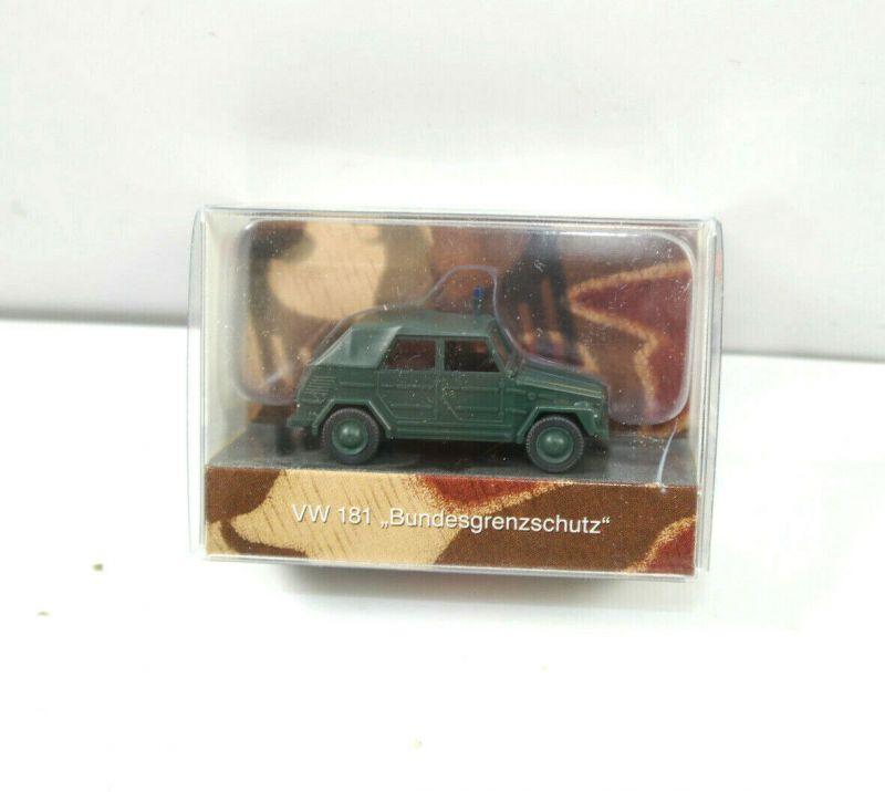 WIKING Edition 7 Int. Polizei VW 181 Bundesgrenzschutz Modellauto 1:87 (K11) #13