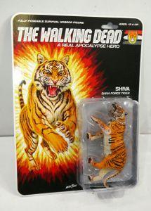 THE WALKING DEAD Shiva Force Tiger (Color) Actionfigur McFARLANE Neu (L)