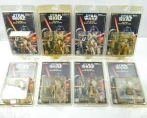 STAR WARS die cast metal key chain 8 Stk. C-3PO R2-D2 Darth Vader PLACO TOYS K34