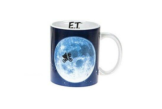 E.T. Der Außerirdische : Across The Moon Tasse Kaffebecher mug NEU (KB15)