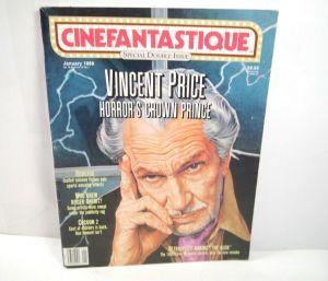 CINEFANTASTIQUE Vol. 19 Nr. 1 & 2 Film Magazin Zeitschrift VINCENT PRICE (WR6)