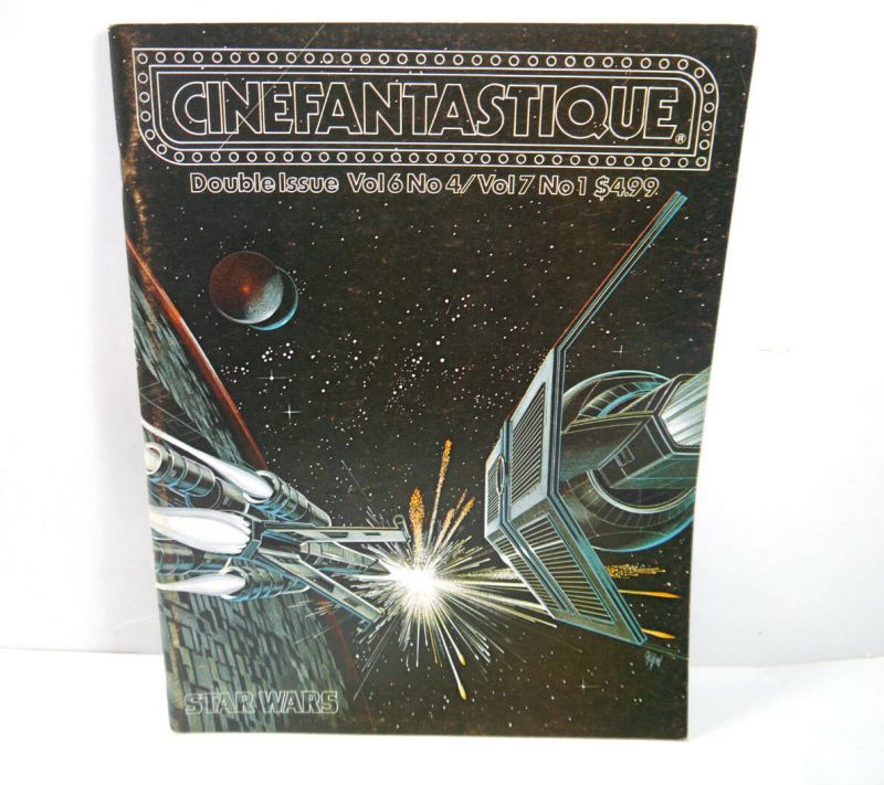 CINEFANTASTIQUE Vol. 6 & 7 / Nr. 4 & 1 Film Magazin Zeitschrift STAR WARS (WR6)