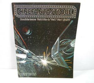 CINEFANTASTIQUE Vol. 6 & 7 / Nr. 4 & 1 Film Magazin Zeitschrift STAR WARS (WR6)
