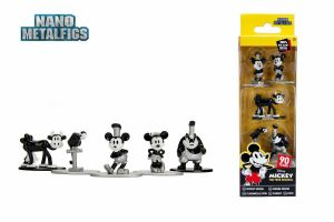 Disney Nano Diecast Minifiguren 5-er Pack Mickey Minnie Clarabelle Neu (KB20) *