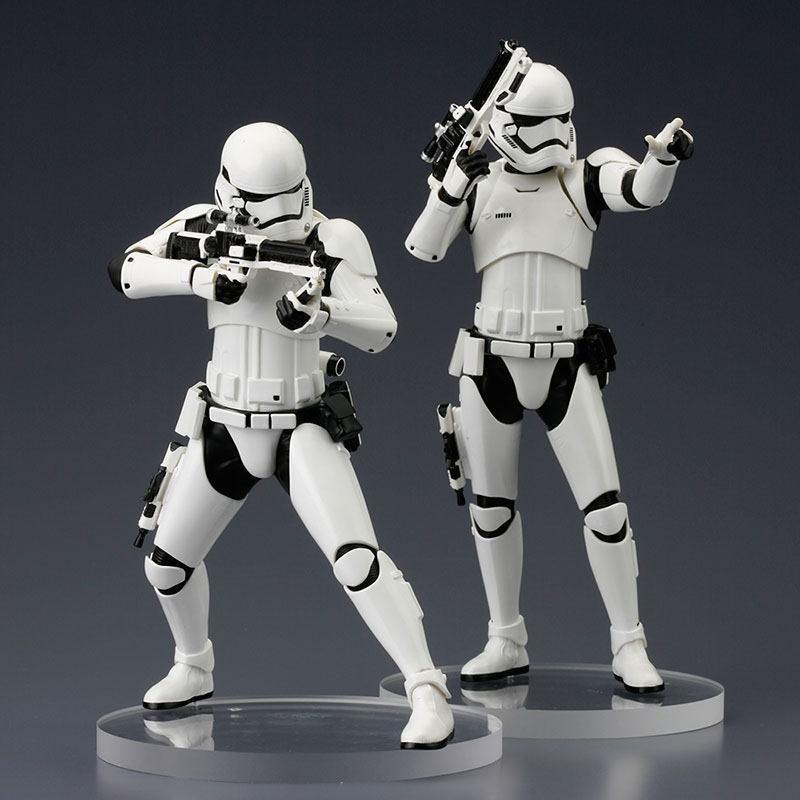 STAR WARS Episode VII First Order Stormtrooper TWO PACK Kotobukiya 1:10 Neu (L)