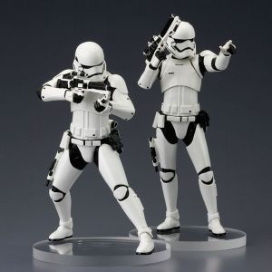 STAR WARS Episode VII First Order Stormtrooper TWO PACK Kotobukiya 1:10 Neu  KA6