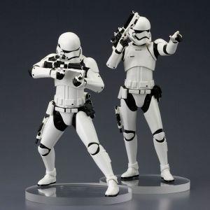 STAR WARS Episode VII First Order Stormtrooper TWO PACK Kotobukiya 1:10 Neu  KA6