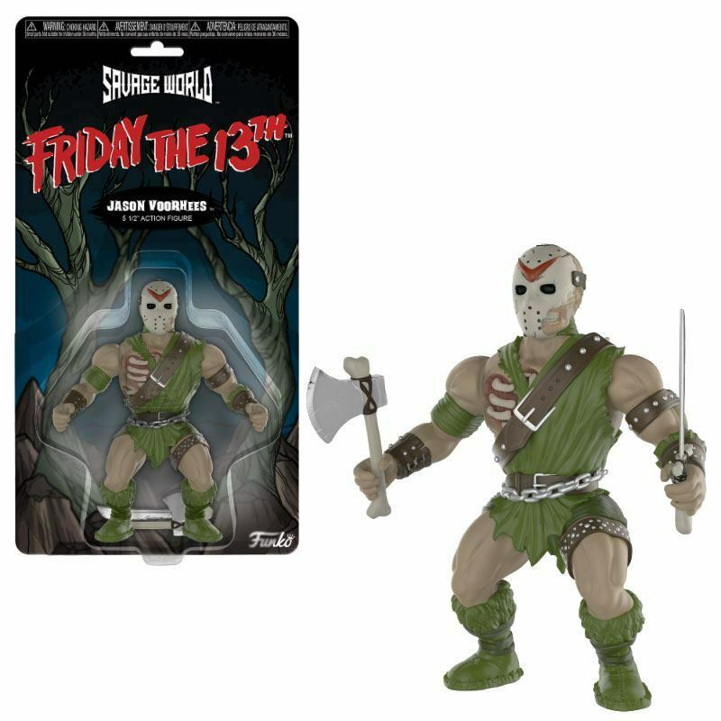 Friday The 13th Savage World Actionfigur Jason  15 cm Neu (KA9)