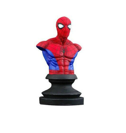 MARVEL ICONS Spider-Man Büste Figur MARVEL Diamond Select Toys 11cm Neu (KA9) *