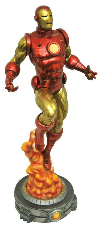 IRON MAN Figur PVC Diorama Marvel GALLERY Diamond Select 28cm NEU (KB17)*