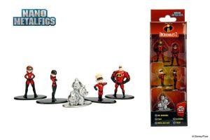 Disney Nano Diecast Minifiguren 5-er Pack  Unglaublichen  Incredible (KB20) *