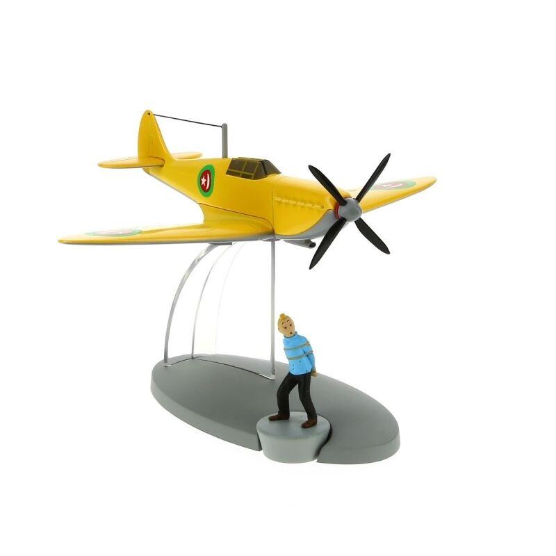 TIM & STRUPPI Emirs Flugzeug Tim Figur Tintin Moulinsart Modell 29549 L *