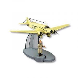 TIM & STRUPPI Sabena Airlines + Tim Flugzeugmodell Tintin Moulinsart 29554 (L)*