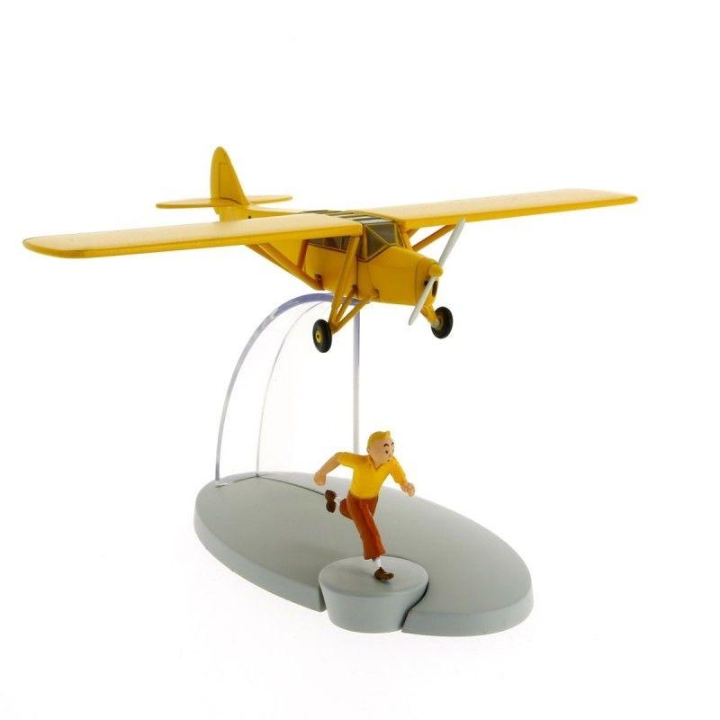 TIM & STRUPPI Tintin Orangenes Flugzeug AB Flugzeugmodell Moulinsart 29527 (L) *