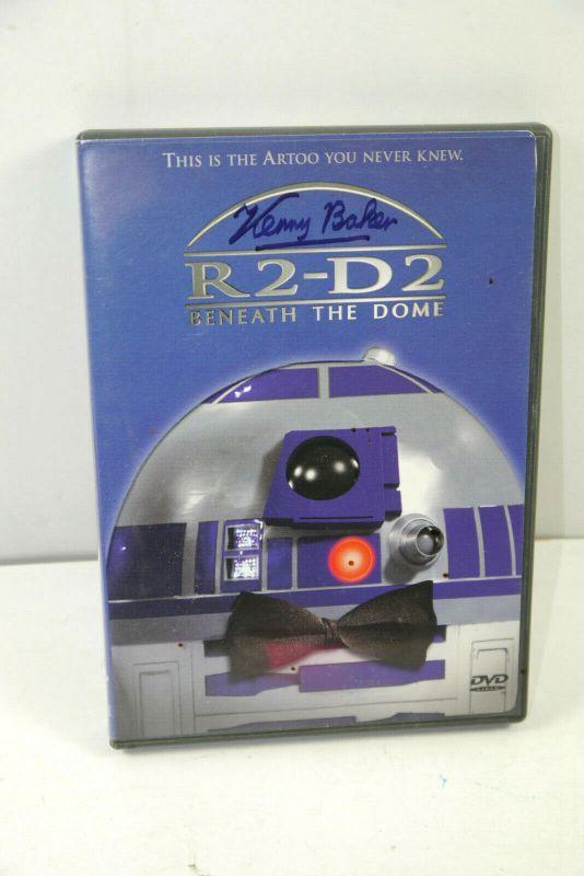 STAR WARS R2-D2 beneath the Dome DVD englisch / Autogramm Kenny Baker (WR2)