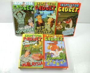 INSPEKTOR GADGET Nr. 1 2 3 4 6 VHS Video Kassette SFI Zeichentrick 1988 (WR2)