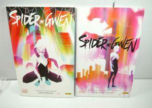 SPIDER-GWEN Band 1 : Drahtseilakt + 2 : Von allen gejagt Comic PANINI Marvel WRX
