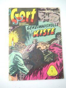 GERT Im Kampf mit Piraten   Heft 1   Geheimnisvolle Kiste Comic LEHNING (MF13)