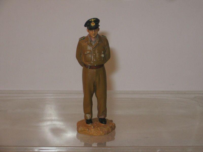 Hobby Work  WWII Soldat ca. 1/22,5 #33 US U-Boot Kommandant  Zinnfigur 8 cm