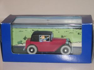 Tim und Struppi / TINTIN Collection Modellauto 1:43 Coupé Spider in Box  ( L )A
