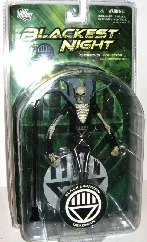 BLACKEST NIGHT Black Lantern Deadman Actionfigur DC DIRECT ca.17cm NEU (L)